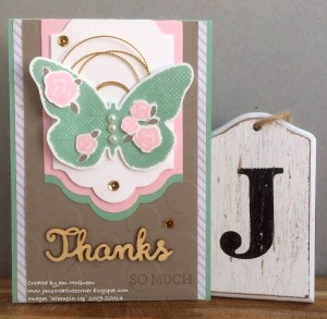 Paper Craft Crew Card Sketch #169 design team submission by Jan McQueen. #stampinup #papercraftcrew #janmcqueen
