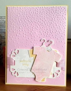 Paper Craft Crew Challenge #168 design team submission by Christyne Richardson. #stampinup #christynerichardson