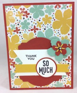 Paper Craft Crew Card Sketch design team submission by Glenda Calkins. #stampinup #papercrafts #glendacalkins