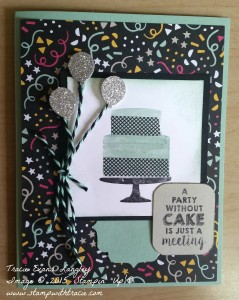 Paper Craft Crew Card Sketch design team submission by Tracie Langley. #stampinup #tracielangley