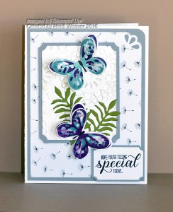 Paper Craft Crew Design Team Card submitted by Heidi Weaver. #papercraftcrew #heidiweaver #themechallenge