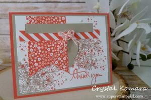 Paper Craft Crew Design Team submission by Crystal Komara for Card Sketch Challenge 189. #crystalkomara #stampinup #themechallenge #papercraftcrew