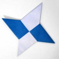 Modular Origami Ninja Star