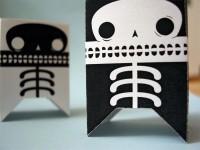 Skeletron papercraft robots