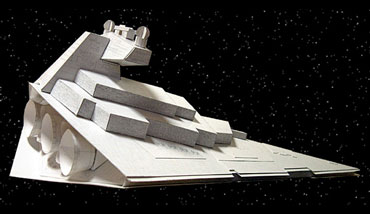 Star Destroyer Papercraft