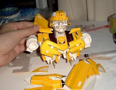 Incredible Papercraft Transformer
