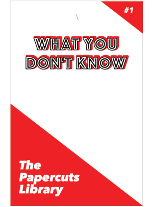 1 What You Don't Know Front Cover