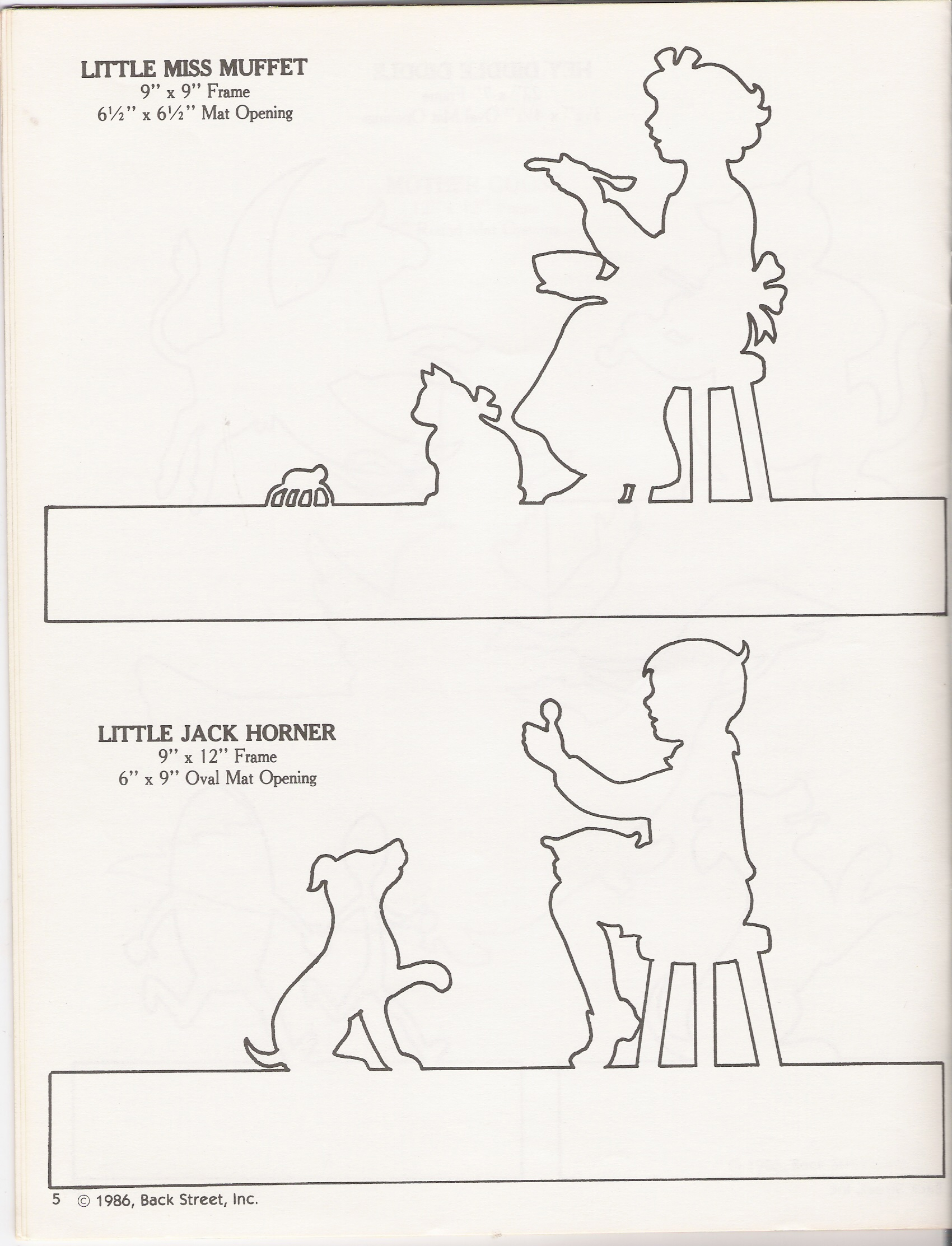 Little Jack Horner Worksheet