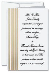Cascade Specialty Folded Invitations If Wedding Invitation Wording Is Something