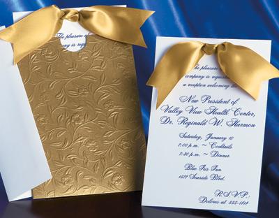 Heirloom Vine Specialty Pocket Invitation By Paperdirect