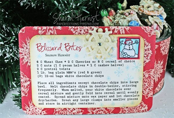 Blizzard Bites Recipe Amp 12 Inchies Of Christmas