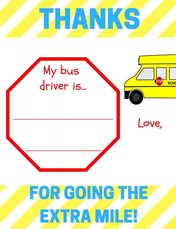 Free printable bus driver appreciation note thanks for going the does your child have an amazing bus driver download my free printable school bus driver thecheapjerseys Images