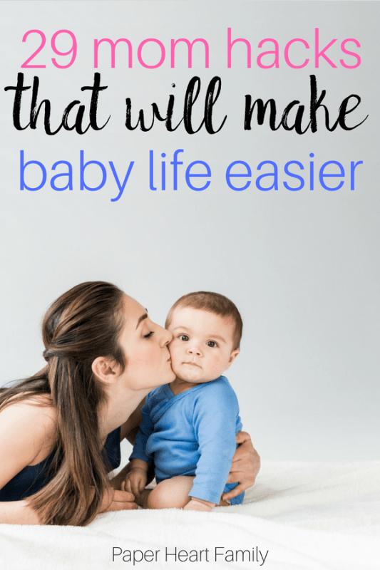 baby life mom hacks