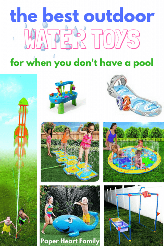 best water toys for kids- outdoor fun
