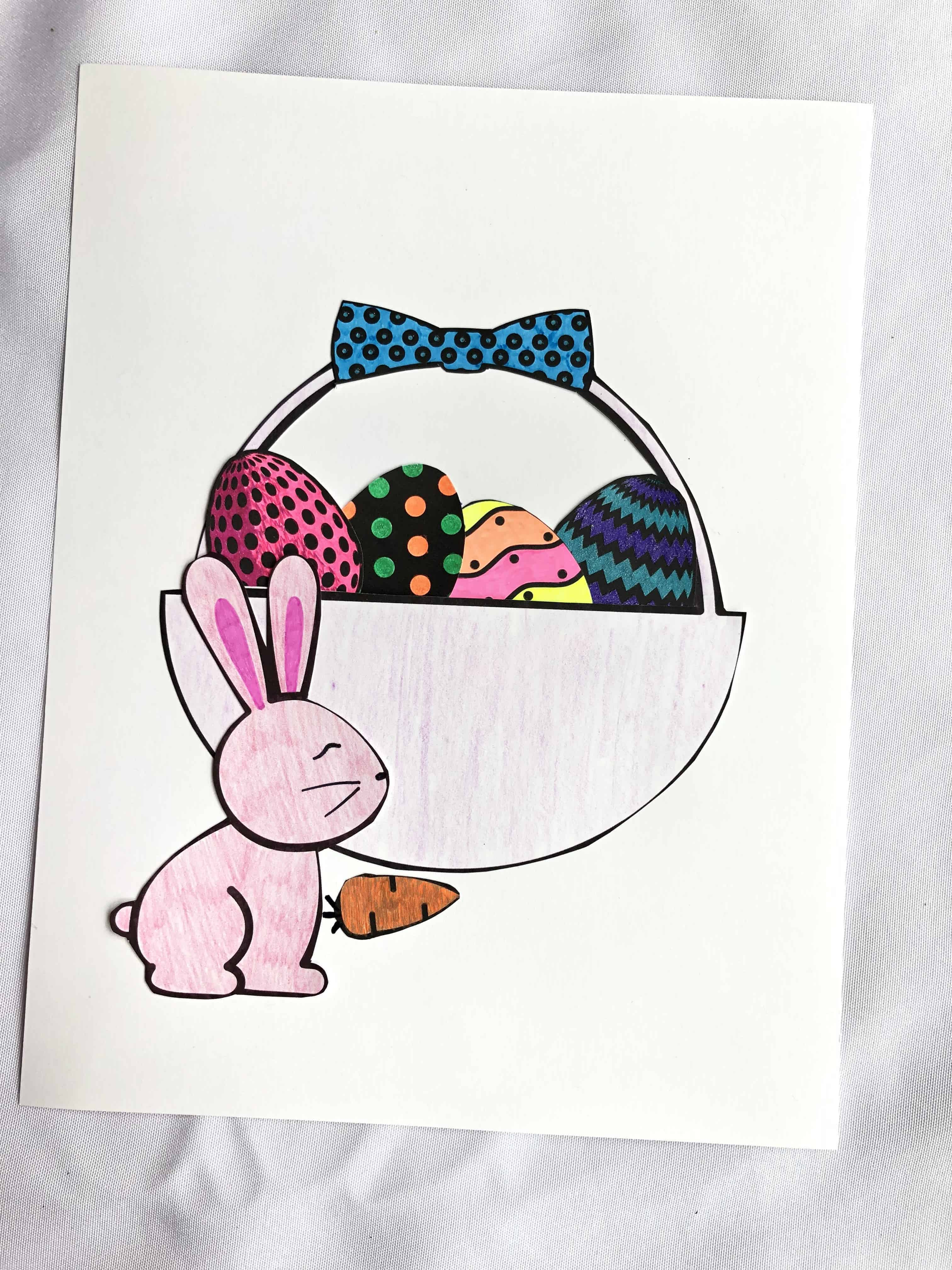 Free Printable Easter Craft For Kids Simply Print Cut