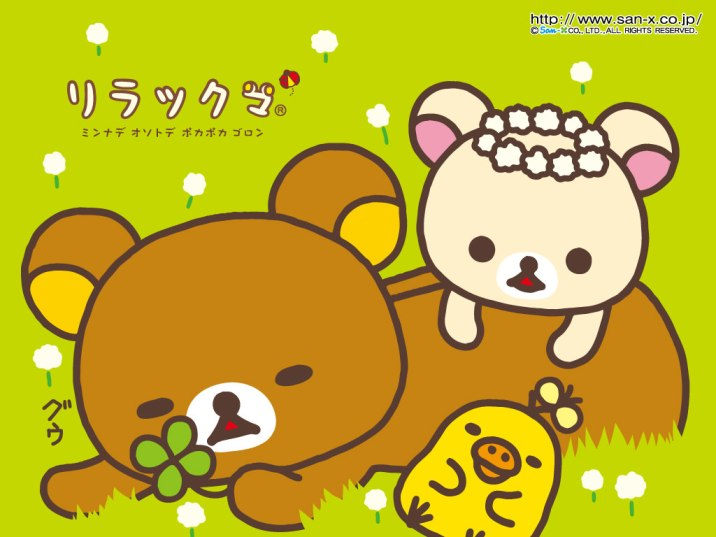 rilakkuma wallpaper january - photo #36
