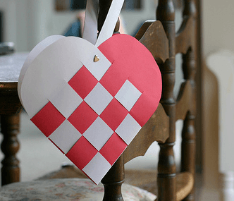 Origami Cat Heart Tutorial - Origami Heart Pocket via @paper_kawaii
