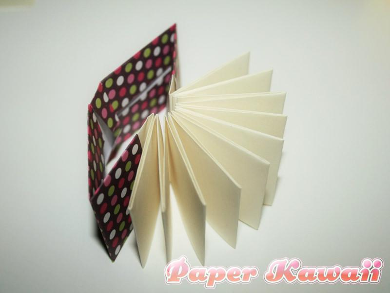 Mini Origami Books Tutorial - Paper Kawaii - photo#36