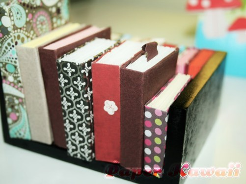 Mini Origami Book Tutorial