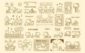 fonds-decran-Hello Kitty HD