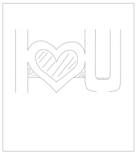Pop up Valentines Card template