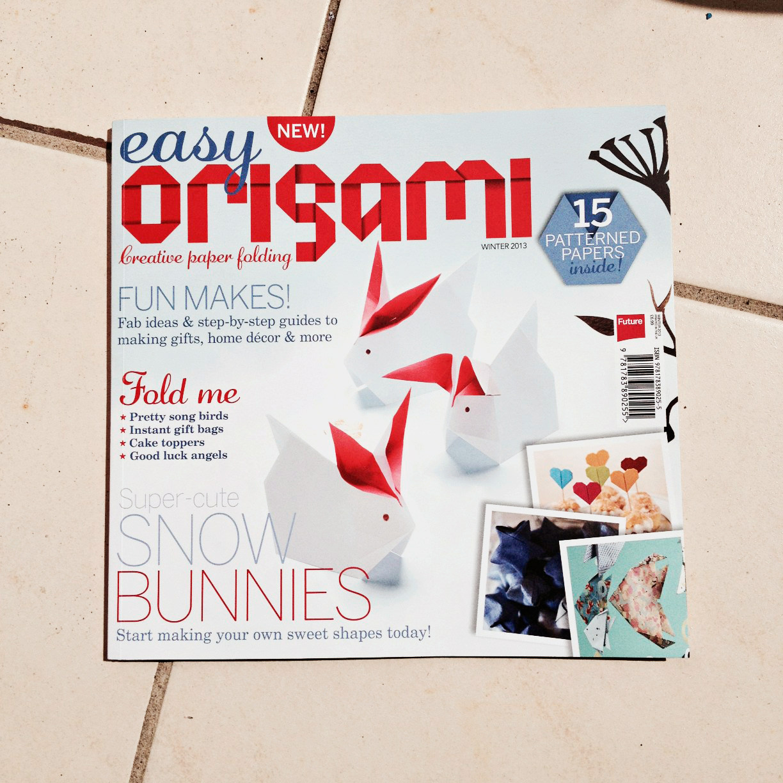 Easy Origami Magazine - creative paper folding - Paper Kawaii - photo#46
