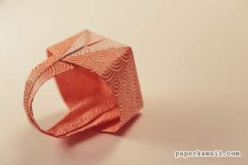 Origami Easter Basket Tutorial via @paper_kawaii