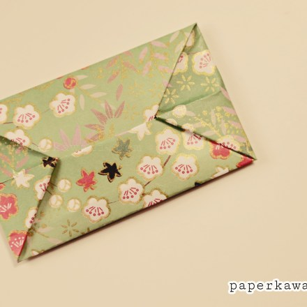 Origami Clutch Bag / Purse Tutorial via @paper_kawaii