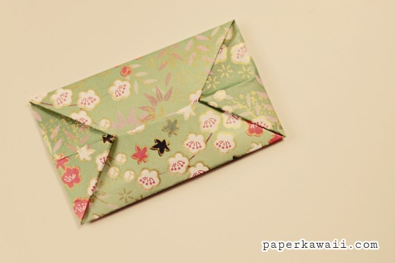 Easy Origami Envelope Tutorial via @paper_kawaii