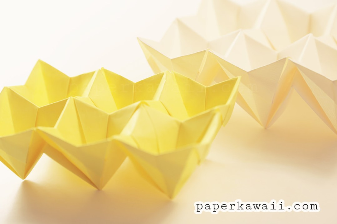 Origami: Bunny Basket - Instructions in English (BR) | Easter 2019 ... | 720x1080