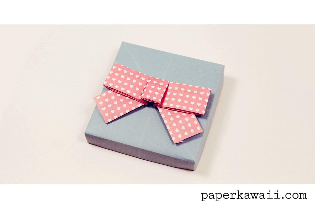 Cute Origami Bow Video Tutorial - Paper Kawaii - photo#7