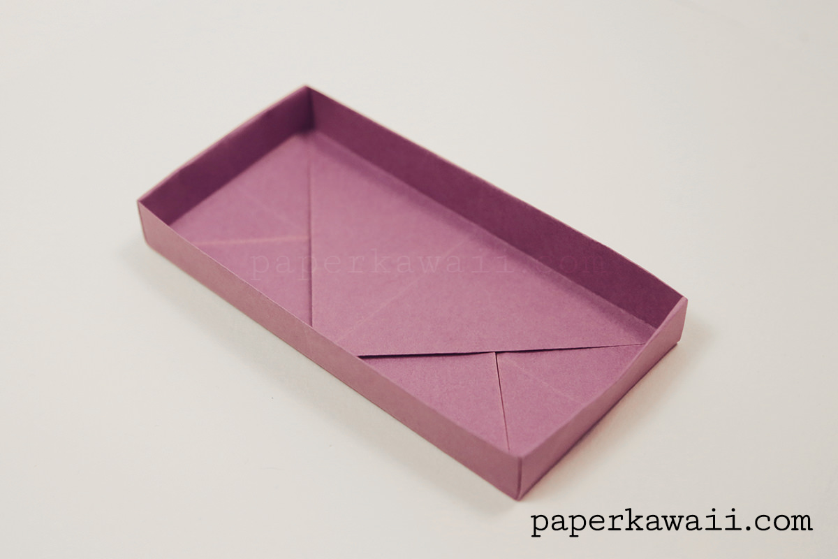 Origami Rectangular Envelope Box Tutorial
