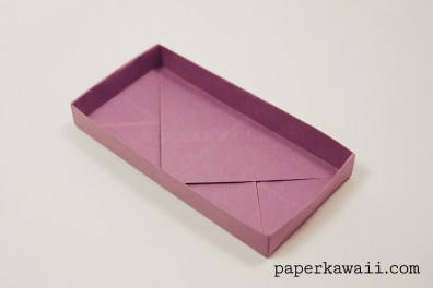 Origami Rectangular 'Envelope' Box Tutorial