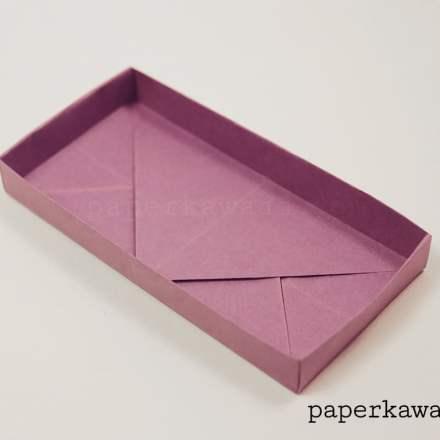 Origami Rectangular Box Divider Tutorial - 3 Kinds via @paper_kawaii