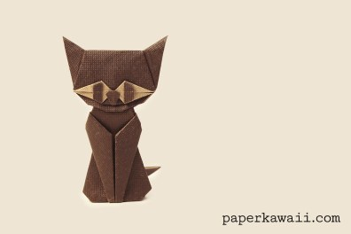 Modular Origami Cat – Halloween – Video Tutorial