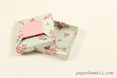 Origami Bow Gift Box Video Tutorial
