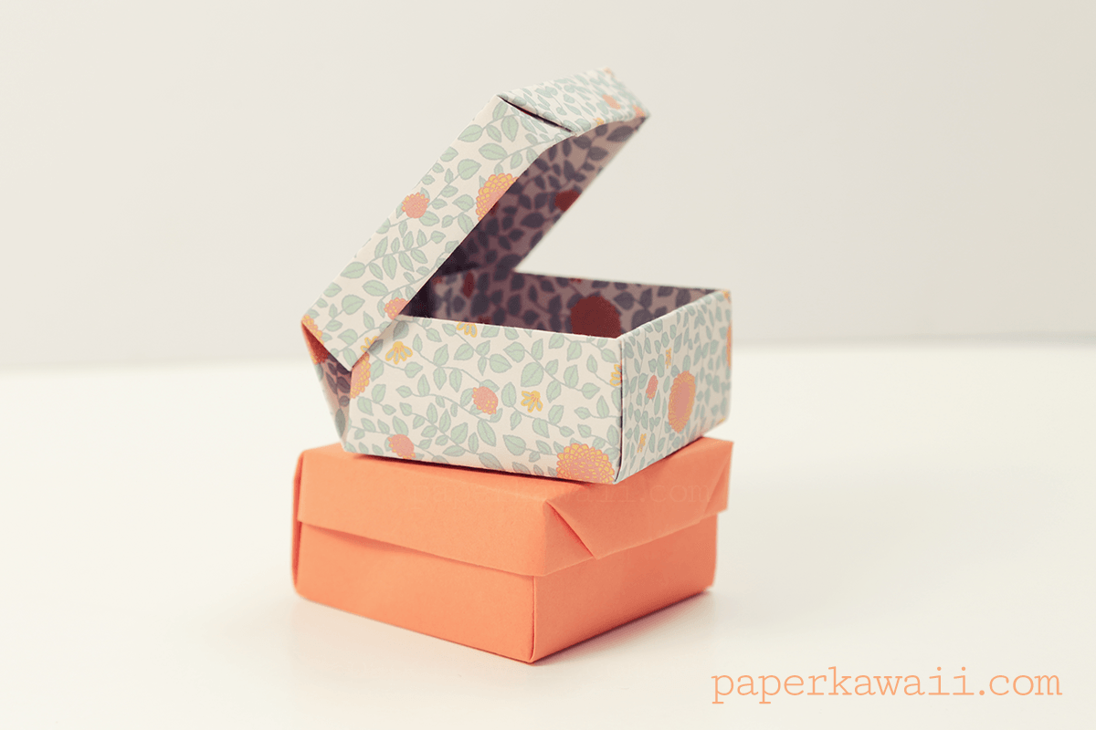 Origami Ring Box For Valentines Day Paper Kawaii