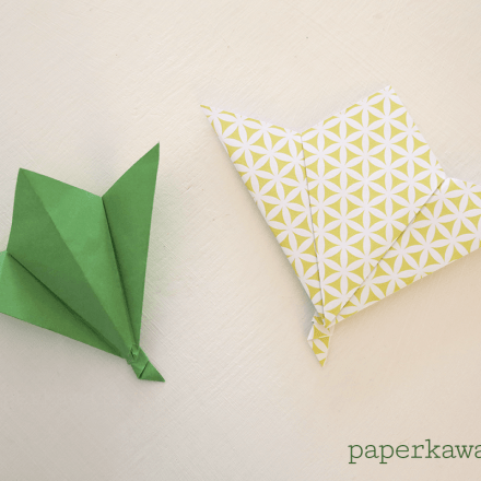 Origami Pinwheel Flowers Tutorial via @paper_kawaii