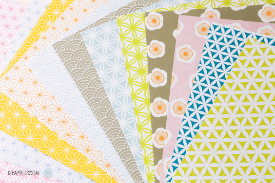 12 Free Printable Origami Papers!