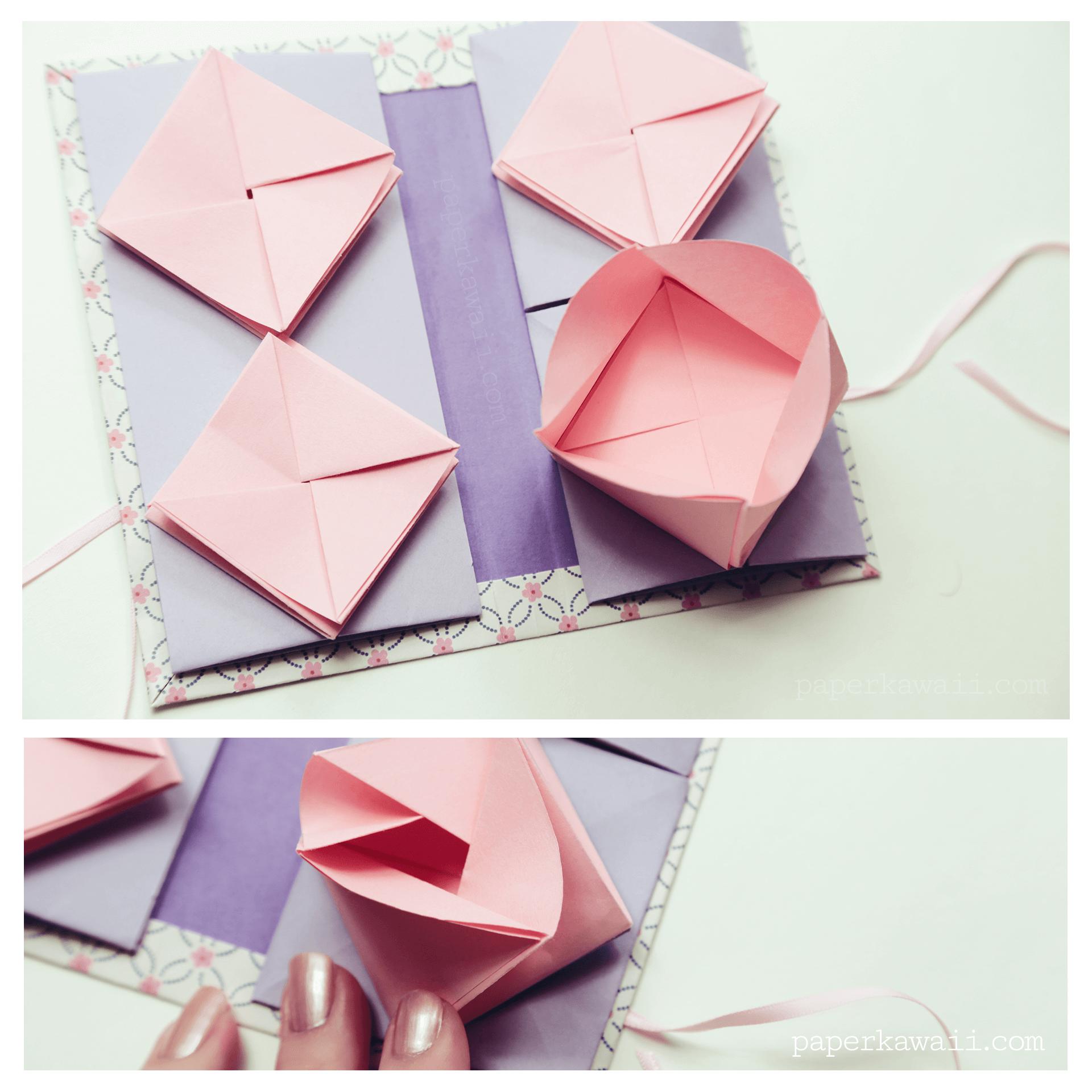 Origami Chinese Thread Book Video Tutorial - Paper Kawaii - photo#27
