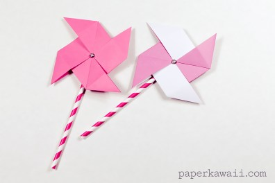 Traditional Origami Pinwheel Video Tutorial