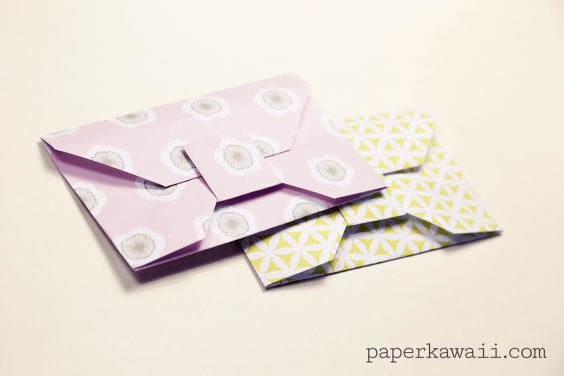 Traditional Origami Envelope Video Tutorial