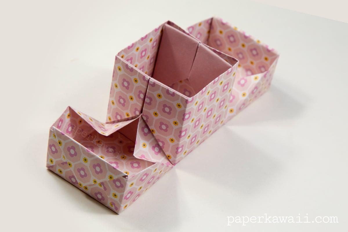 Origami Hinged Box Video Tutorial - Paper Kawaii - photo#22