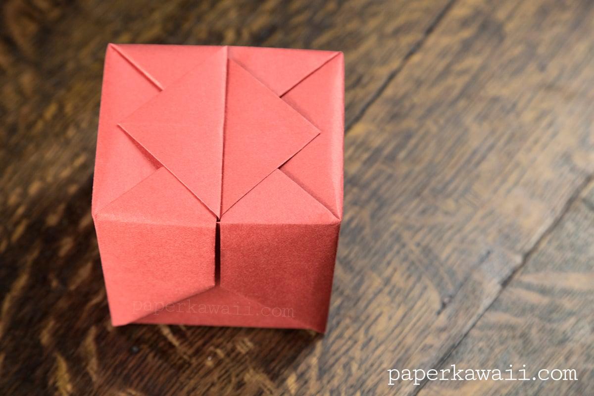 Origami Hinged Box Video Tutorial - Paper Kawaii - photo#2