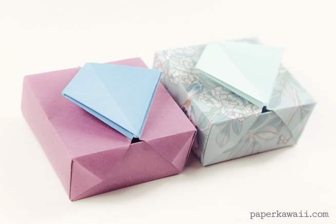 Origami Gatefold Box Instructions via @paper_kawaii