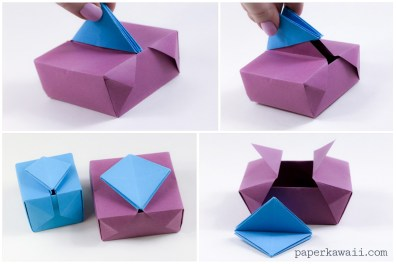 Origami Gatefold Box Instructions