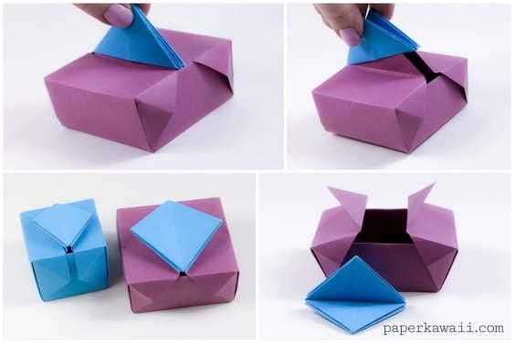 Origami Gatefold Box Instructions