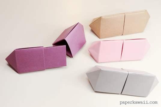 Origami Gem Box - Long Version via @paper_kawaii