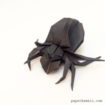 Spooky Halloween Origami Models! via @paper_kawaii