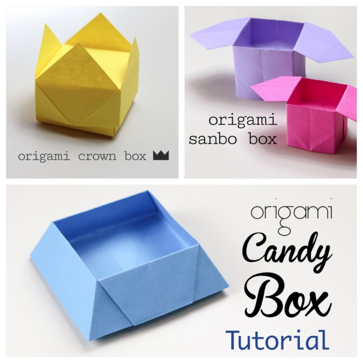 3 Easy Origami Boxes
